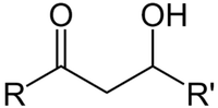β-ヒドロキシケトンの化学構造