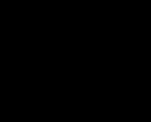 β-ピネンの化学構造