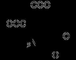 γ-カルボキシグルタミン酸の化学構造