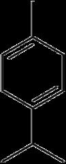 γ-テルピネンの化学構造