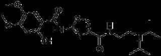 アコチアミドの化学構造