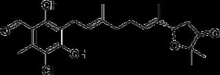 アスコフラノンの化学構造