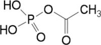 アセチルリン酸の化学構造