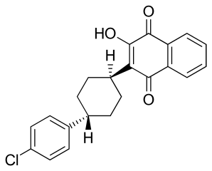 アトバコンの化学構造