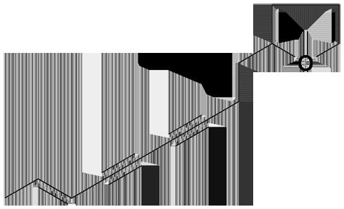 アトラクチロジンの化学構造