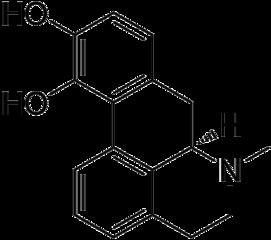 アポモルヒネの化学構造