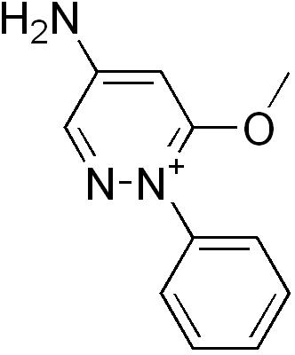 アメジニウムの化学構造