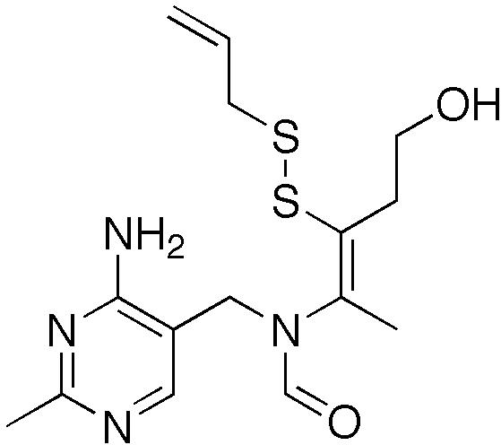アリチアミンの化学構造
