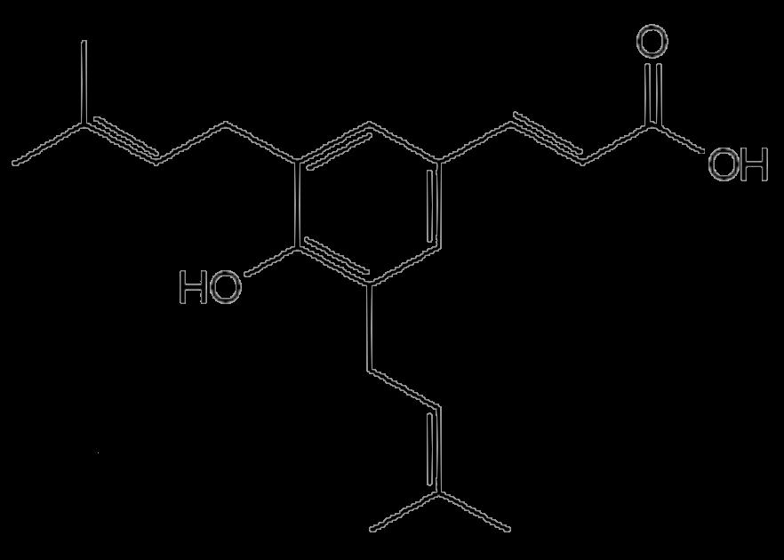 アルテピリンCの化学構造