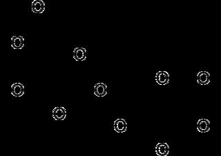 アロラクトースの化学構造