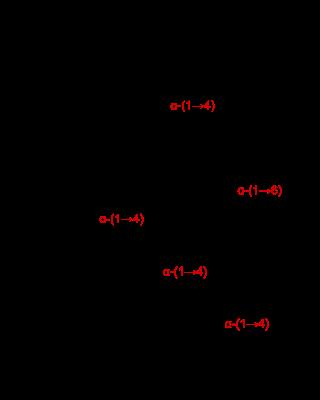イコデキストリンの化学構造