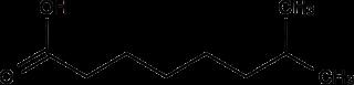 イソノナン酸の化学構造