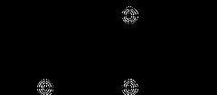 イプリフラボンの化学構造