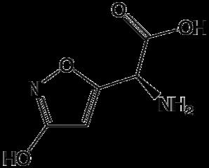 イボテン酸の化学構造