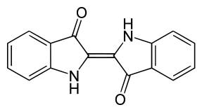 インディゴの化学構造