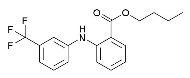 ウフェナマートの化学構造