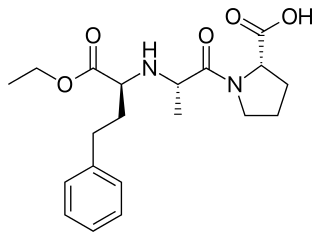 エナラプリルの化学構造