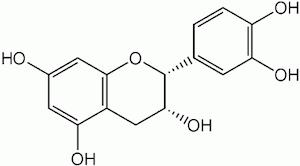 エピカテキンの化学構造