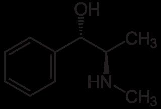 エフェドリンの化学構造