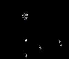 エメダスチンの化学構造