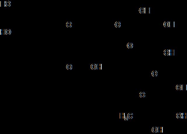 エリオシトリンの化学構造