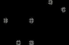 エリオジクチオールの化学構造