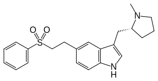 エレトリプタンの化学構造