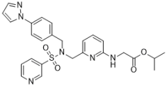 オミデネパグ イソプロピルの化学構造