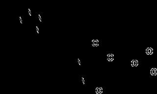 オルメサルタンの化学構造