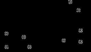 オレアンドリンの化学構造