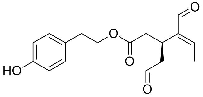 オレオカンタールの化学構造