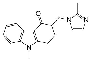 オンダンセトロンの化学構造