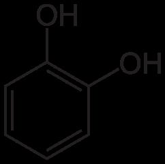 カテコールの化学構造