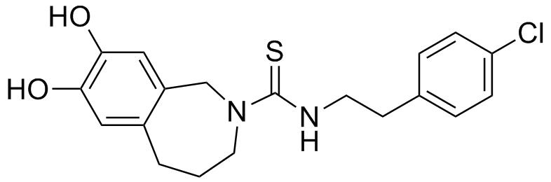 カプサゼピンの化学構造