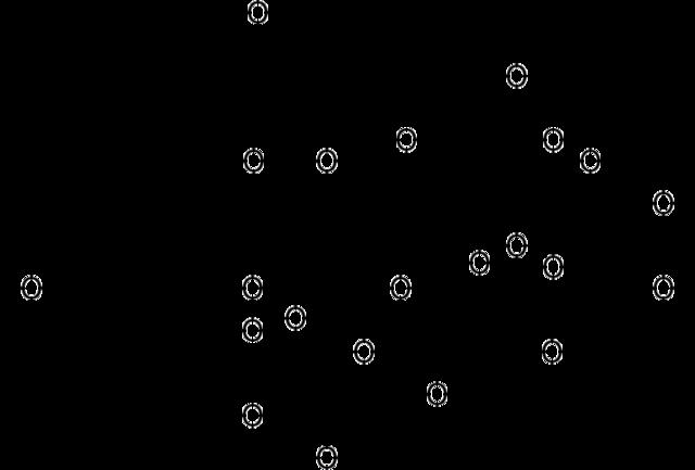 カルタミンの化学構造