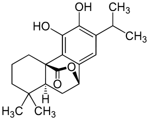 カルノソールの化学構造
