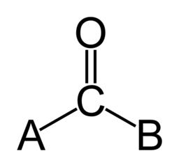 カルボニル基の構造