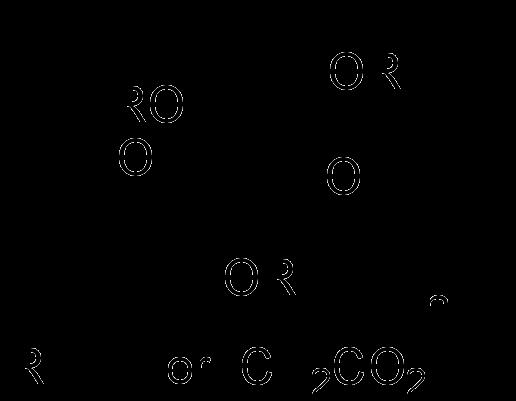 カルメロース(カルボキシメチルセルロース)の化学構造