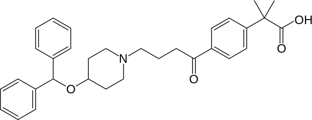 カレバスチンの化学構造