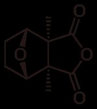 カンタリジンの化学構造