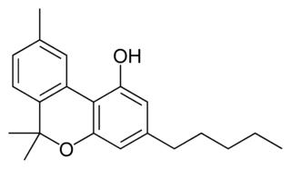 カンナビノールの化学構造