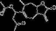 キサンツミンの化学構造