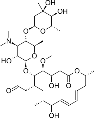 キタサマイシンの化学構造