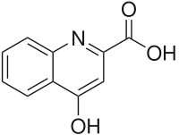 キヌレン酸の化学構造