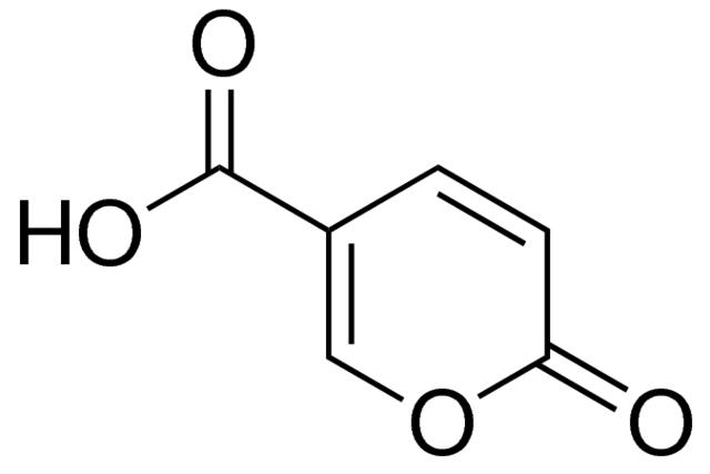クマリン酸の化学構造