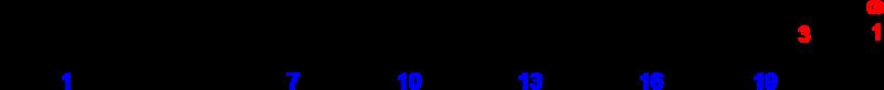クルパノドン酸の化学構造