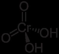 クロム酸の化学構造