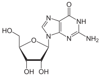 グアノシンの化学構造