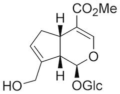 ゲニポシドの化学構造