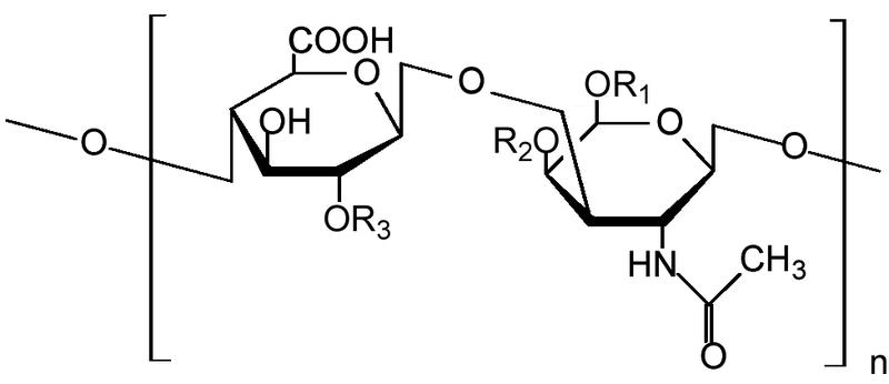 コンドロイチン硫酸の化学構造